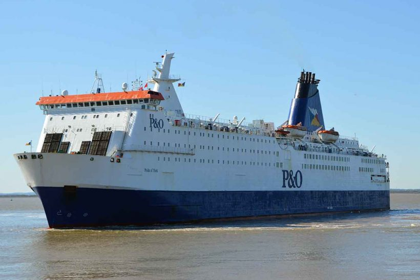 P&O Ferries ships go to Poland for refit