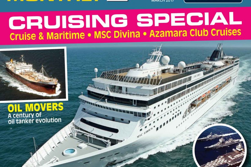 Latest issue of Ships Monthly out today