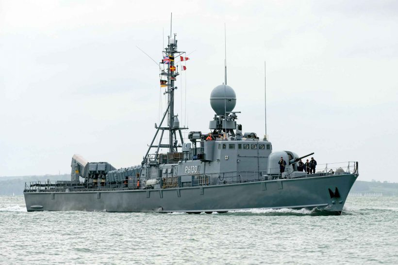 German Navy Attack Squadron disbanded