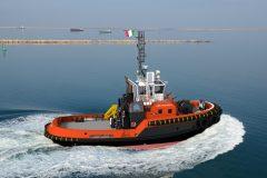 Another Damen ASD 2913 tug for Italy