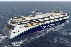 Ulstein Verft to build Color Line's new hybrid vessel