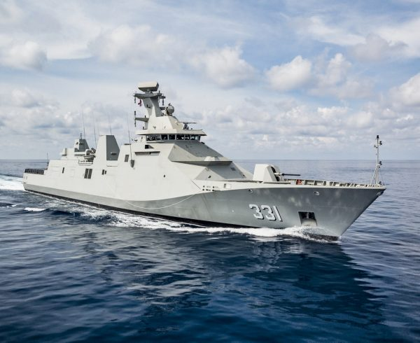 First SIGMA frigate delivered to Indonesia