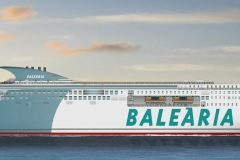 Baleària signs agreement  to build two dual fuel ferries