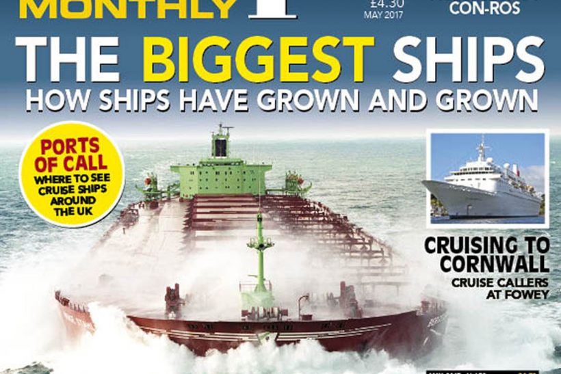 May 2017 issue of Ships Monthly out now