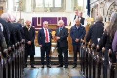 More than 400 attend service for Herald of Free Enterprise