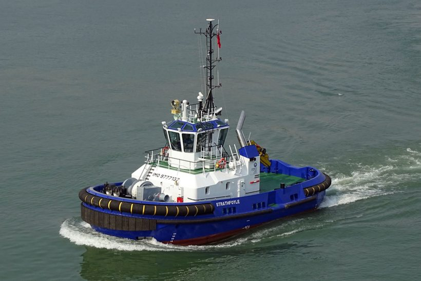 Damen ASD 2310 comes to Foyle Port