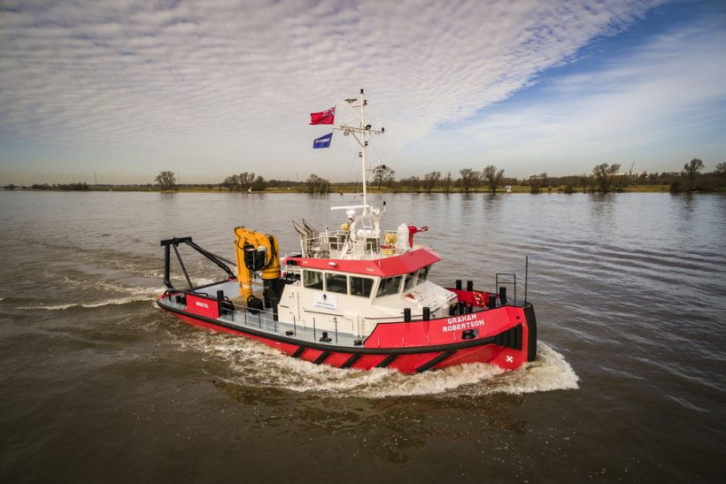 Multi-role Damen Shoalbuster for Bristol Port