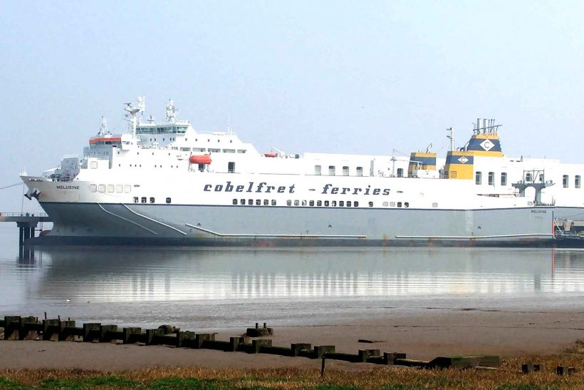 Ro-ro cargo vessel Melusine in collision