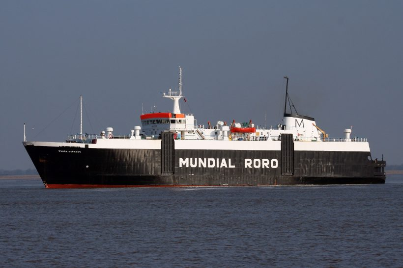 Robb Caledon built vessel goes for recycling