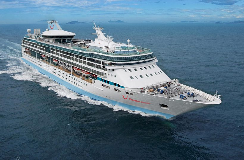 Thomson Cruises To Sail From The UK