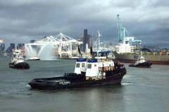SCR Tugboat christened in America