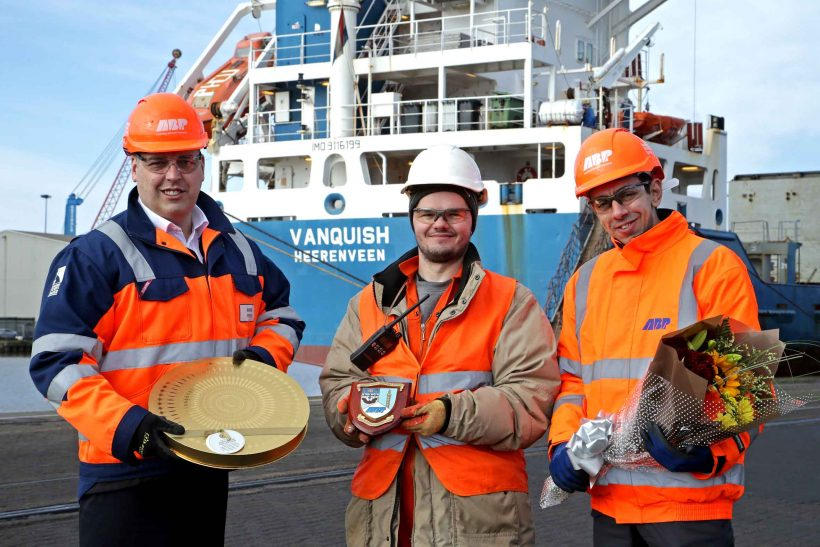 Immingham welcomes A2b's latest chartered vessel