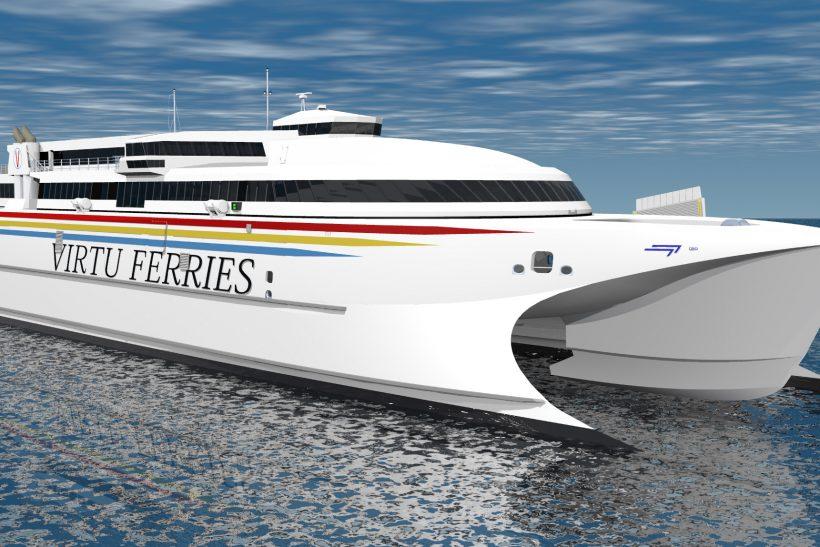 Mediterranean's largest high speed catamaran