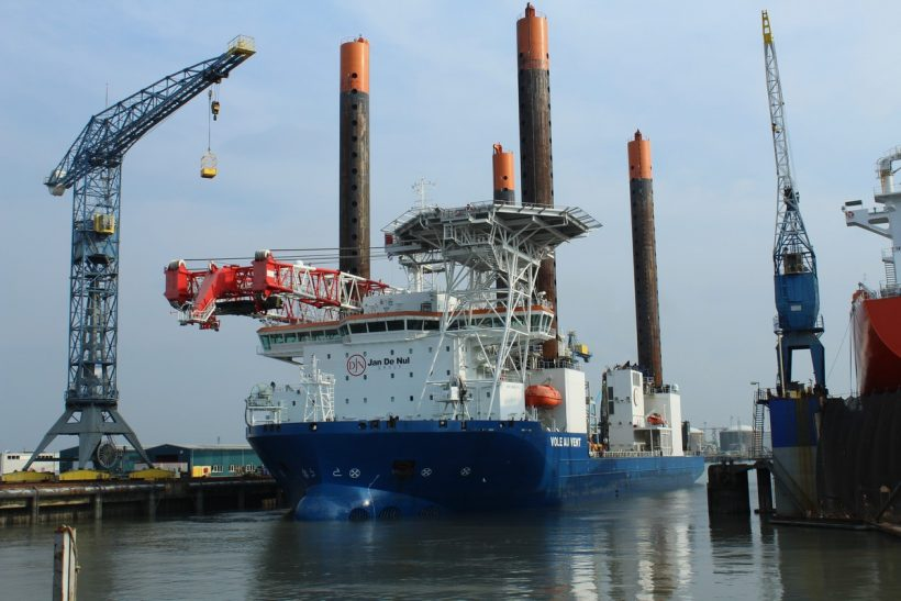 Damen completes work on dredging and jack up vessels