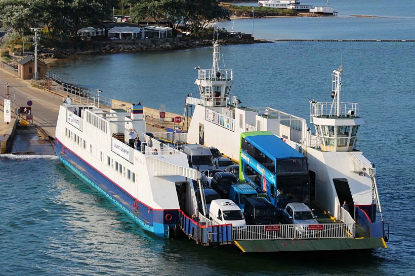 Sandbank Poole Harbour ferry fares increase