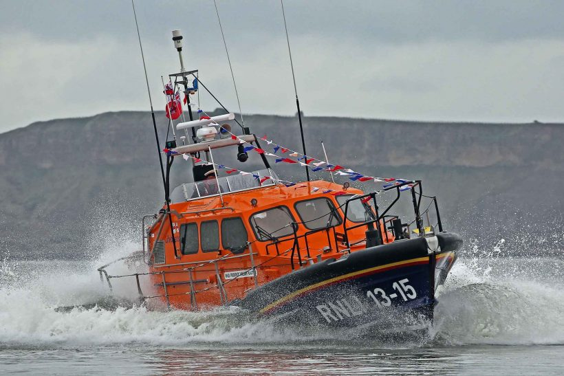 Royal naming for new Scarborough lifeboat