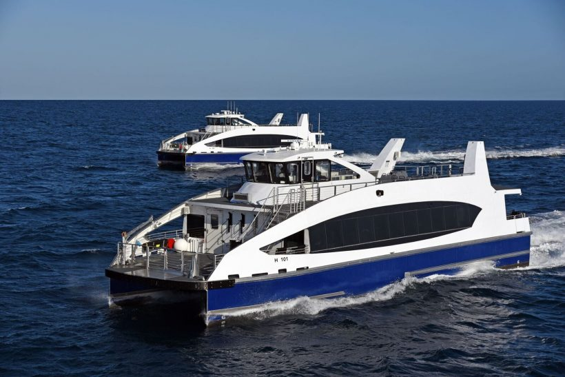 Metal Shark Delivers First Two NYC Ferries