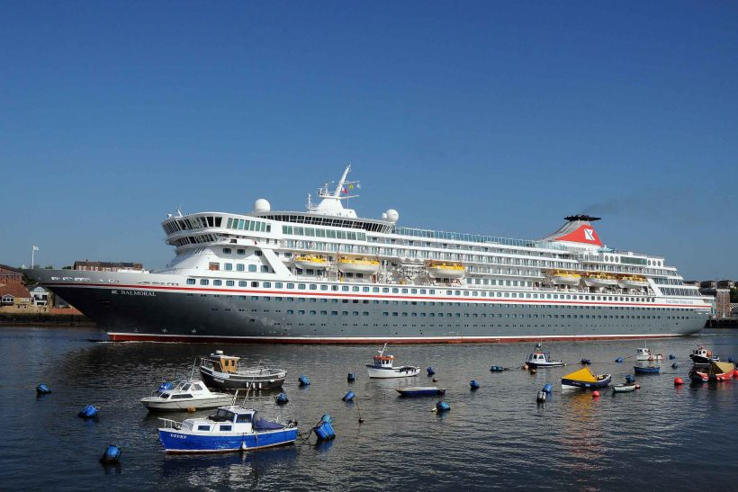Balmoral arrives at the Port of Tyne for second 'turnaround' cruise season