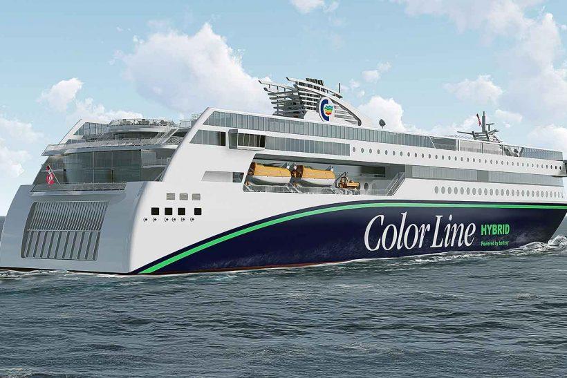 World's largest plug-in hybrid vessel awarded Next Generation Ship Award