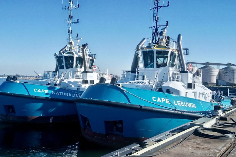 Two Azimuth Tractor Drive Tugs delivered to Western Australia