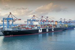 MSC Cristina becomes biggest container ship ever to dock in an Israeli port