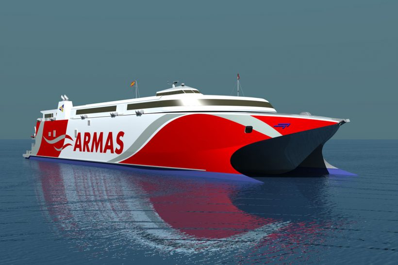 Fast Ferry Contract for Incat