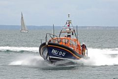 New Swanage RNLI lifeboat named and dedicated