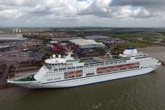 Cruise & Maritime name Columbus at Tilbury Cruise Port