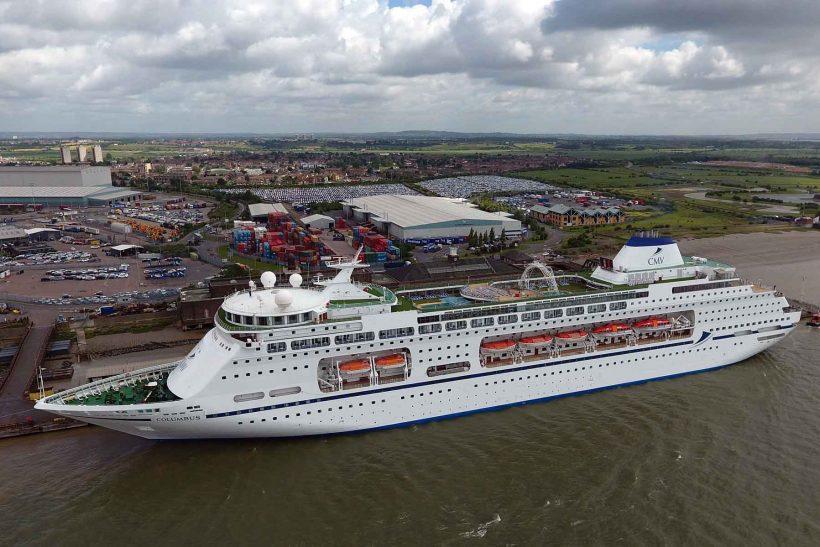 Cruise & Maritime name Columbus at Tilbury Cruise Port