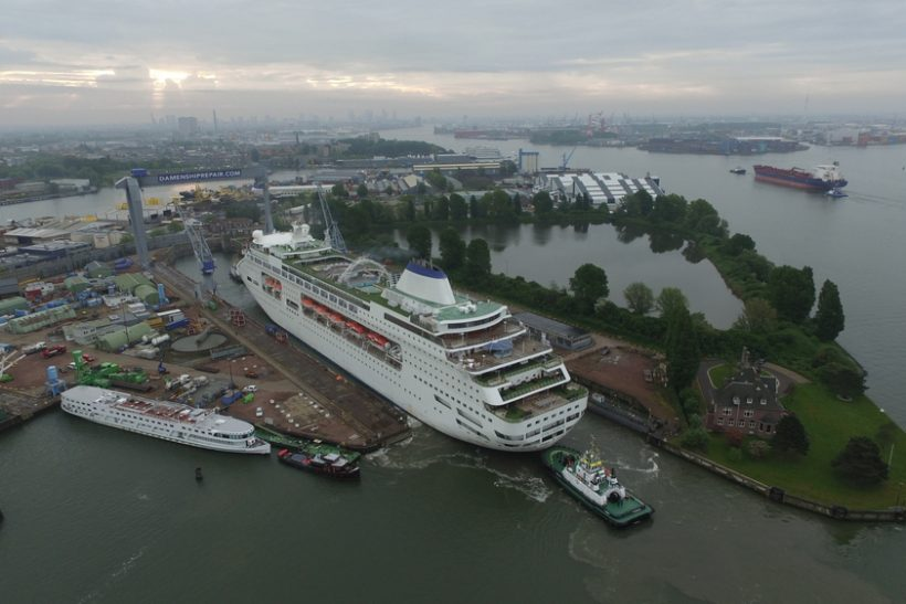 Damen prepares Columbus for summer cruise season