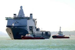 Southampton hosts Dutch Naval vessel HNLMS Karel Doorman