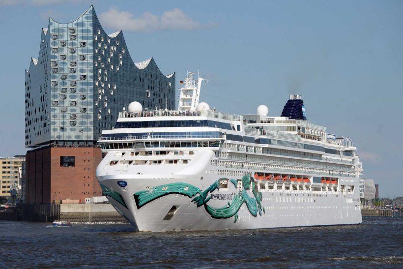 Norwegian Jade is making Hamburg its new home port for the 2017 summer season