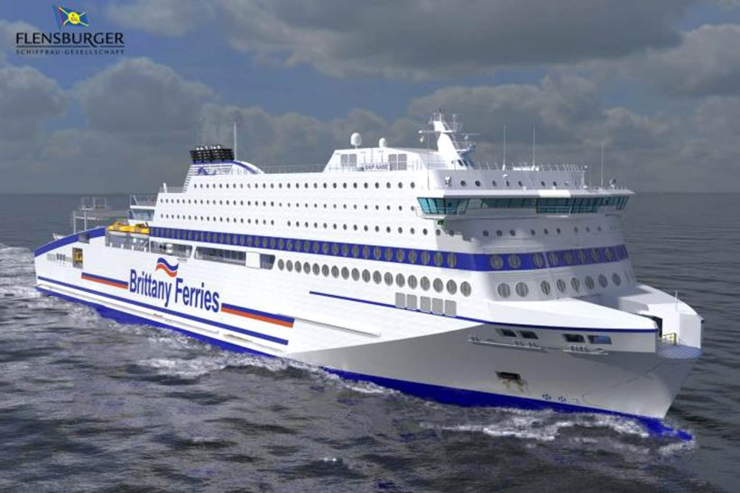 Brittany Ferries confirm order For New Ship Honfleur