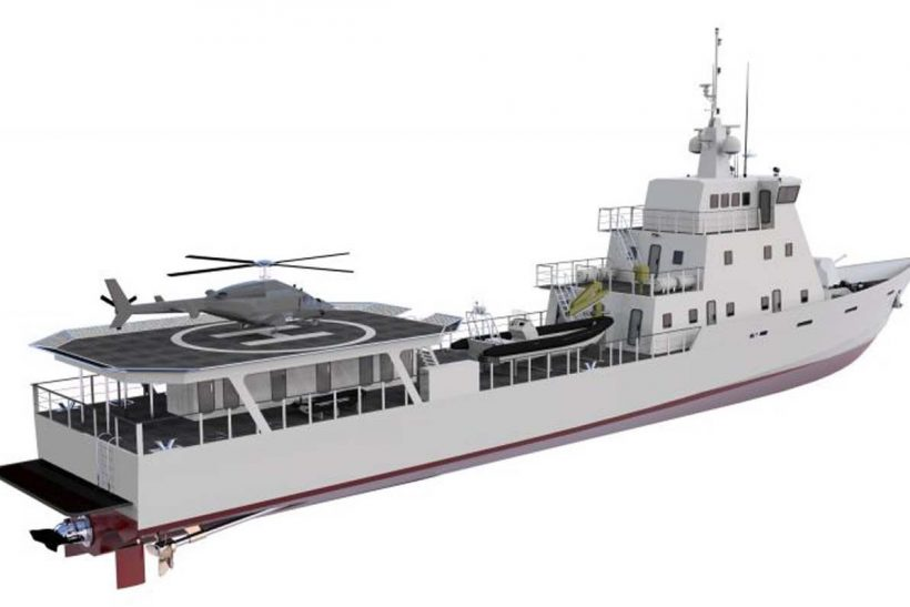Bangladesh builds patrol boat for Kenya