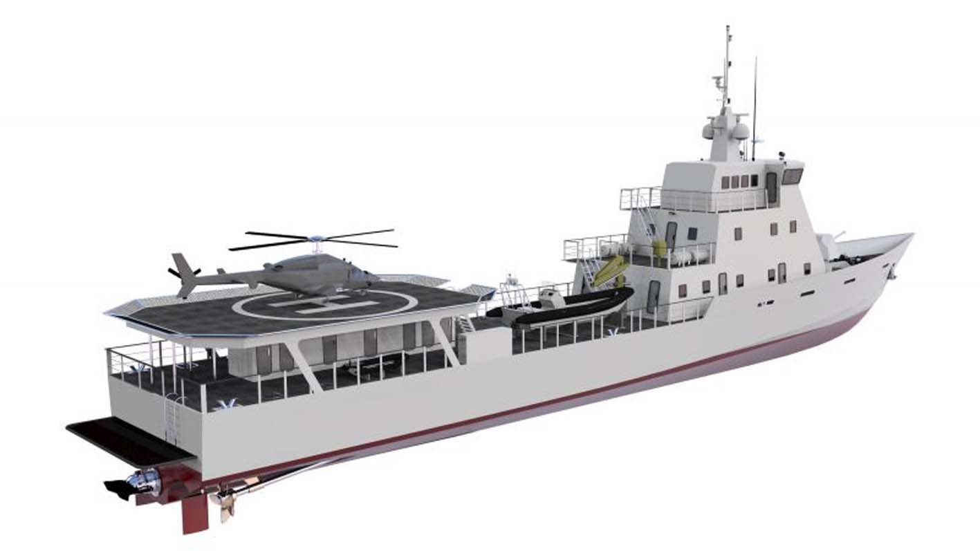 Bangladesh Builds Patrol Boat For Kenya Ships Monthly