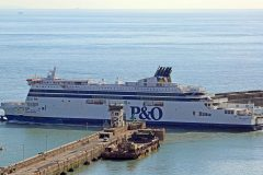 P&O Ferries carries more freight across the Channel