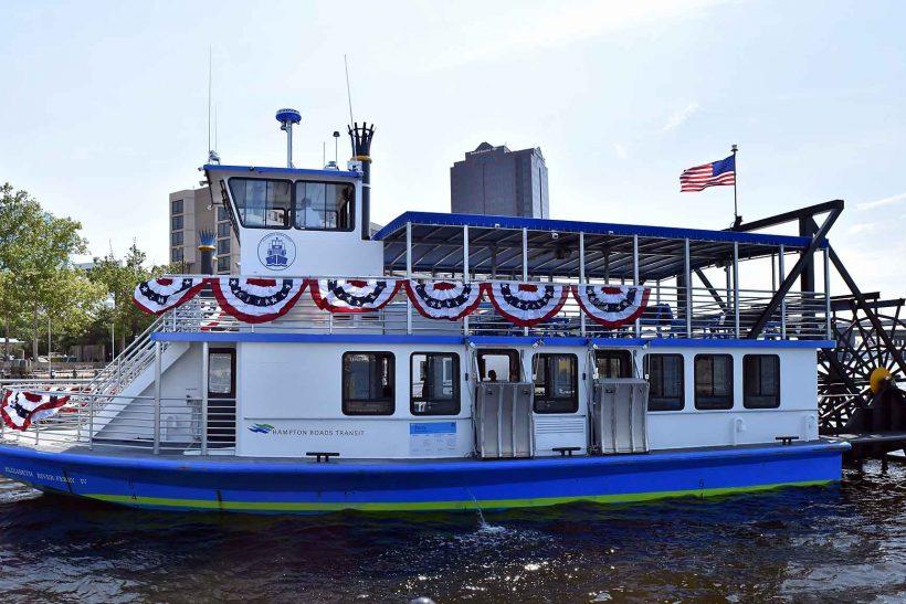 Hampton Roads Transit Christens BMT-Designed Ferry