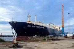 Damen Shiprepair Brest completes maintenance on  LNG carrier