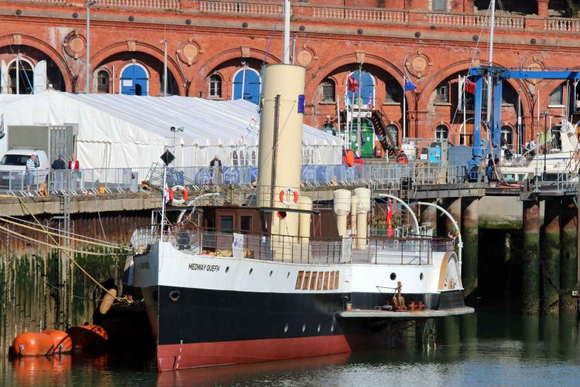 Visit Medway Queen during the summer