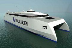 Wärtsilä waterjets to power new Danish high-speed ferry
