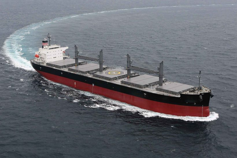 Wärtsilä scrubber systems for two new Japanese bulk carriers