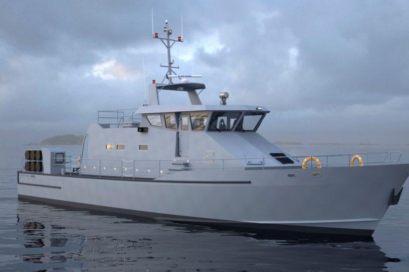 Damen and Metal Shark partnership for patrol boats