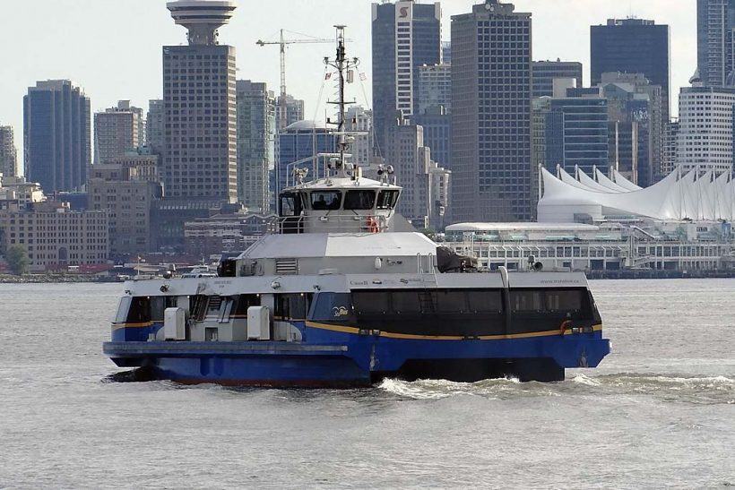TransLink places order for second Damen SeaBus