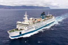 Civilian hospital ship to hold a second annual 'cargo day'