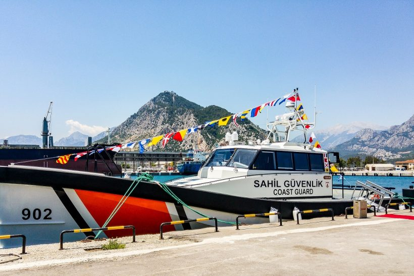 Turkish Coast Guard takes delivery of first two Damen SAR Vessels