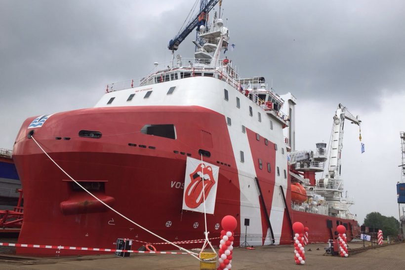 Major upgrade for subsea-support vessel at Damen