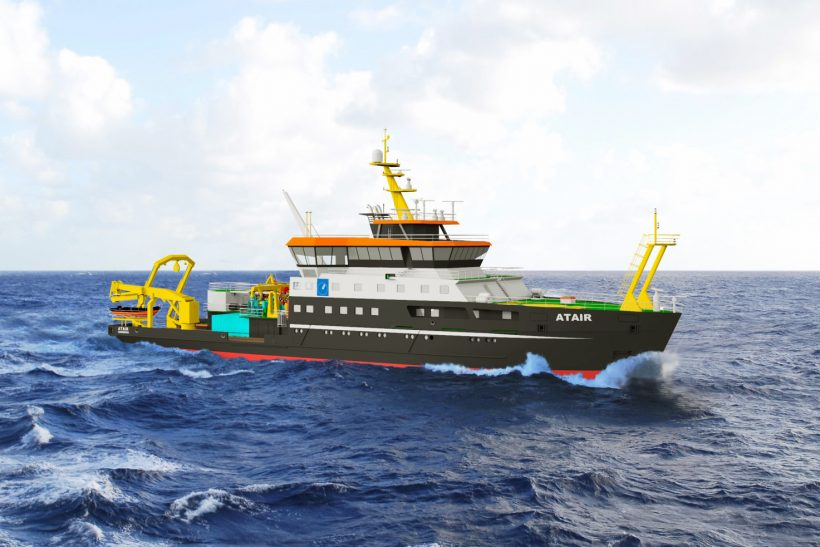 New German LNG fuelled research ship