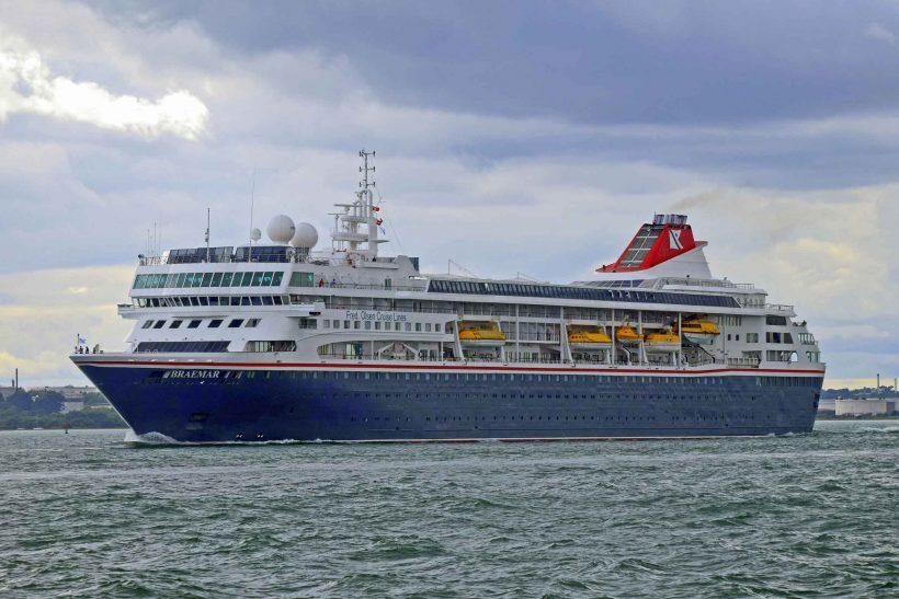 Bumper cruise visit weekend in Southampton