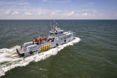 Homeland takes delivery of Damen Patrol Vessel Guardian 3