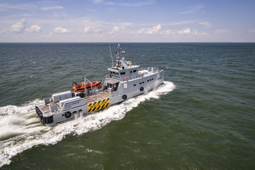 Homeland takes delivery of Damen Patrol Vessel Guardian 3